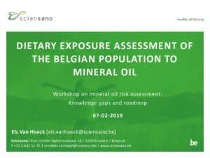 ILSI / ILSI Workshop Mineral oil – Els Van Hoeck_v2