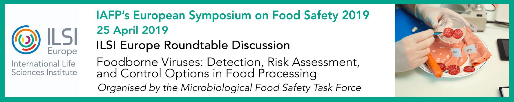 ILSI / ILSI Europe's Roundtable on 'Foodborne Viruses